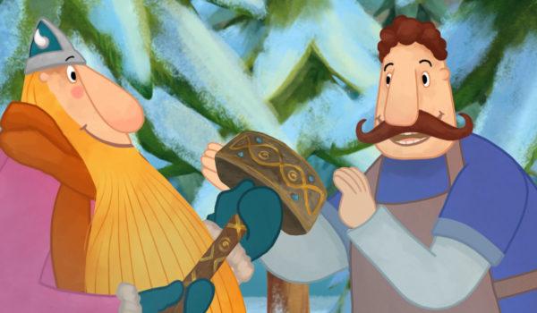 """Kadr z animacji """"Wiking Tappi"""""""